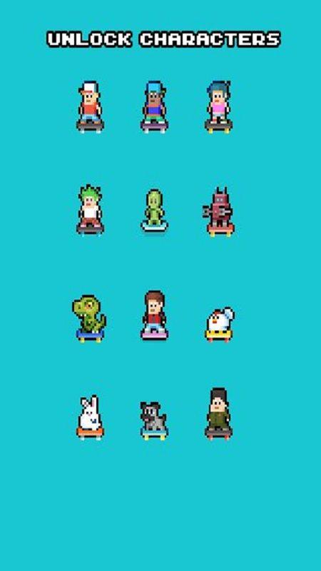 小小滑板少年中文汉化版游戏图4: