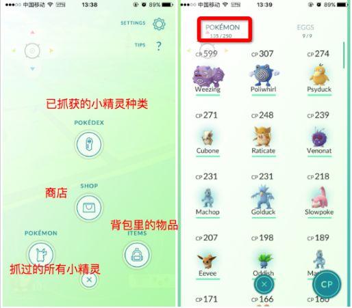 pokemon go中文汉化版官网正式版下载图3: