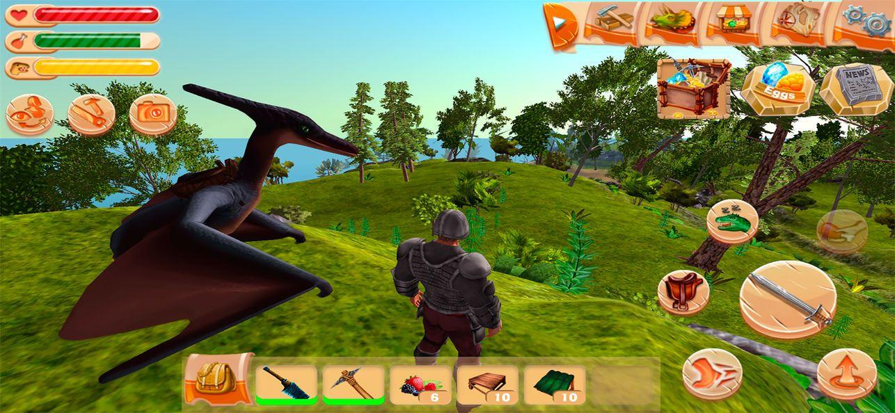 方块方舟生存进化手机版游戏官方下载最新版图1: