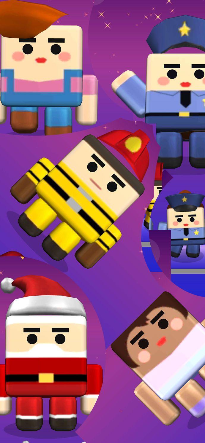 多跳几次手机游戏最新版下载(Jump More)图1: