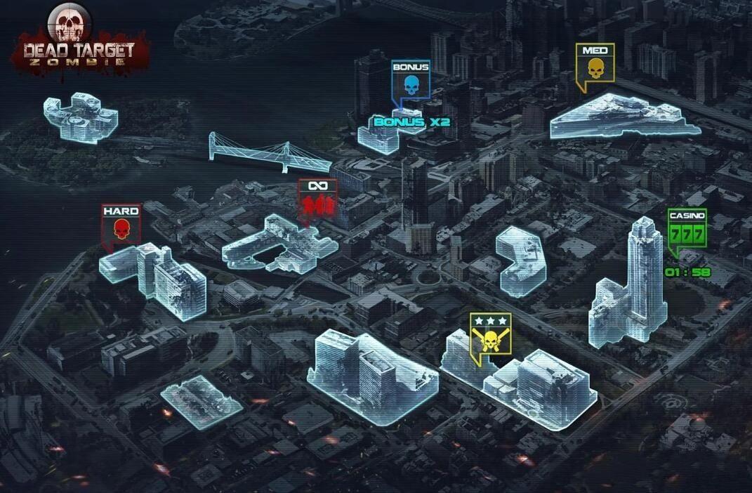 死目标僵尸安卓官方版游戏下载图1: