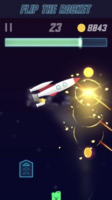 111%翻转火箭手机中文游戏最新地址下载(Flip The Rocket)图3:
