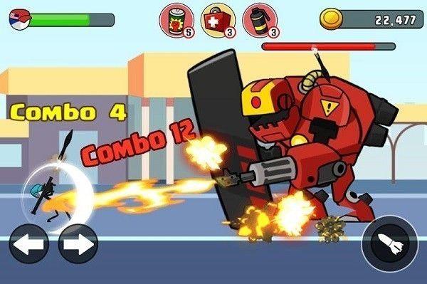 火柴人战士复仇之战手机游戏最新正版下载图1: