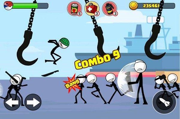 火柴人战士复仇之战手机游戏最新正版下载图2: