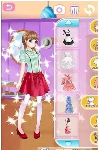 美少女时代安卓官方版游戏下载图3: