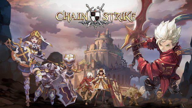 时空链战国服手游中文汉化最新版(Chain Strike)图1: