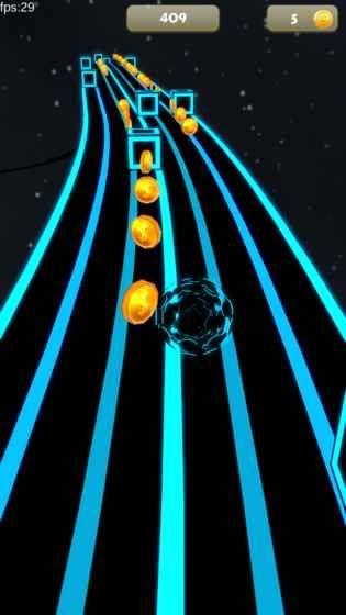 太空节奏球手机游戏官网下载最新版(Space Rush)图4: