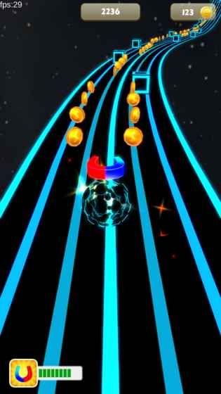 太空节奏球手机游戏官网下载最新版(Space Rush)图2: