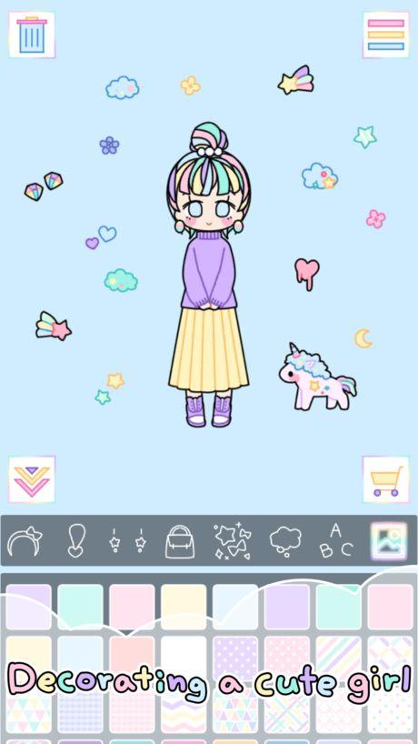 粉彩女孩Pastel Girl1.2.3免费道具内购修改版图1: