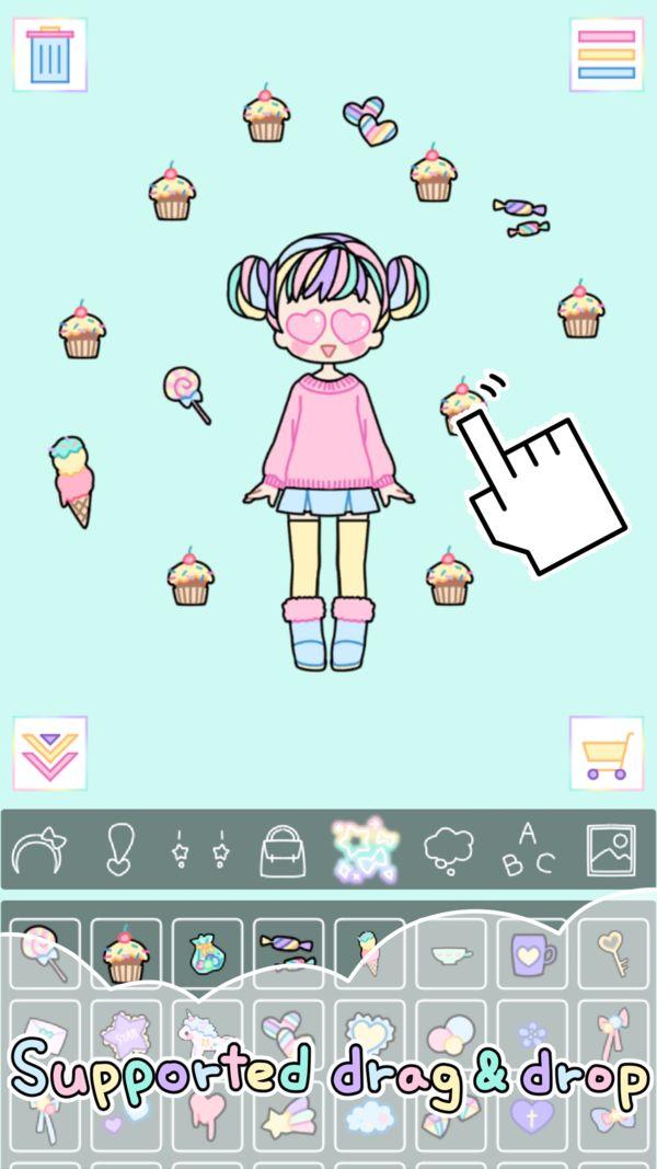 粉彩女孩Pastel Girl1.2.3免费道具内购修改版图5: