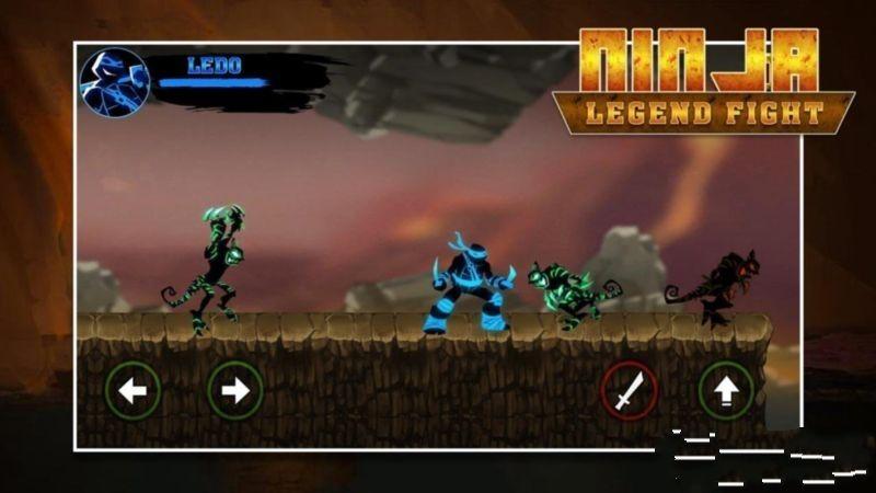 忍者传奇战斗安卓官方版游戏下载图1: