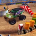 怪物卡车特技学校游戏
