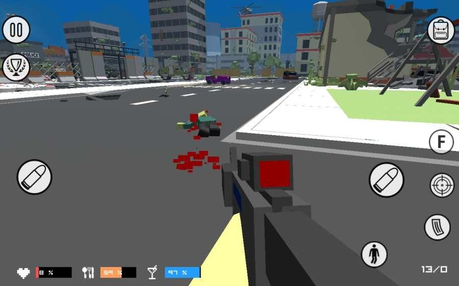 像素战盒僵尸革命安卓官方版游戏图4: