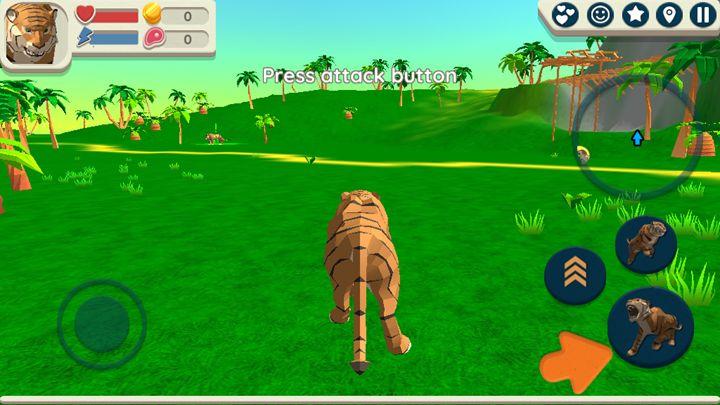 像素老虎模拟安卓中文版游戏图1: