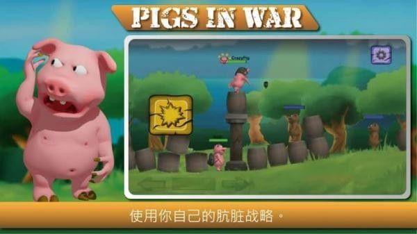战争中的猪安卓官方版游戏图1: