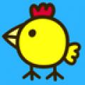 小猪佩奇喜欢玩的快乐小鸡的游戏