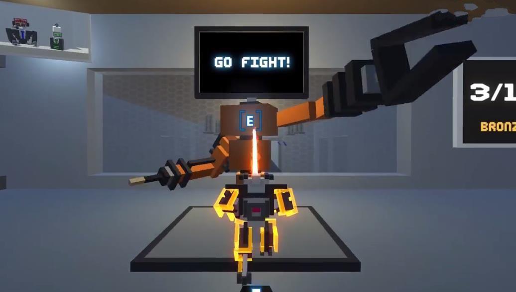 屌德斯解说机器人大乱斗中文版游戏免费下载 v1.2.0截图