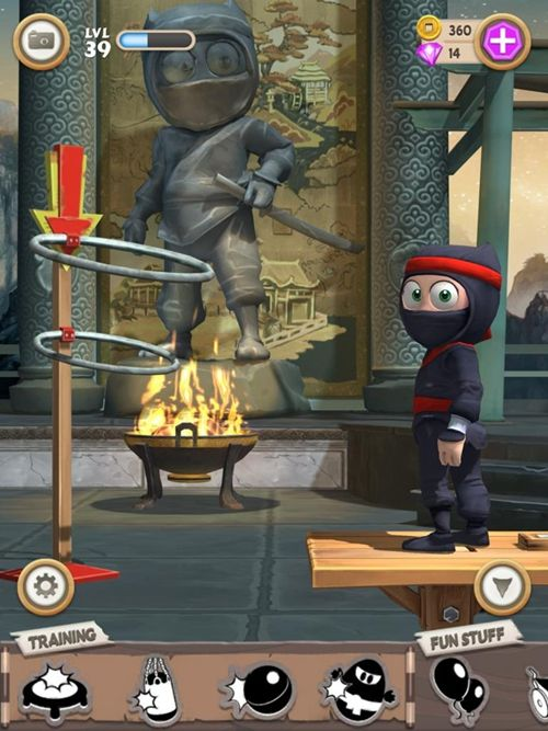 笨拙的忍者中文汉化版游戏下载(Clumsy Ninja)图2: