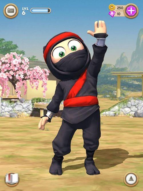 笨拙的忍者中文汉化版游戏下载(Clumsy Ninja)图1:
