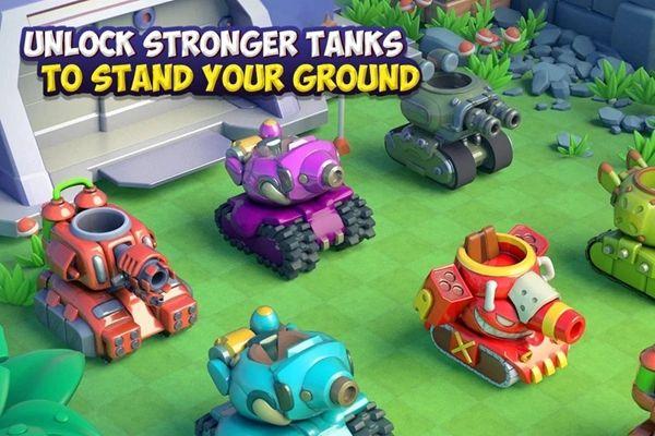 Dank坦克游戏官方网站下载正式版(Dank Tanks)图1: