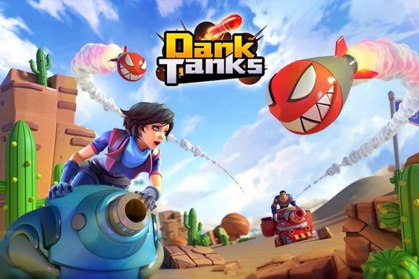 Dank坦克游戏官方网站下载正式版(Dank Tanks)图5: