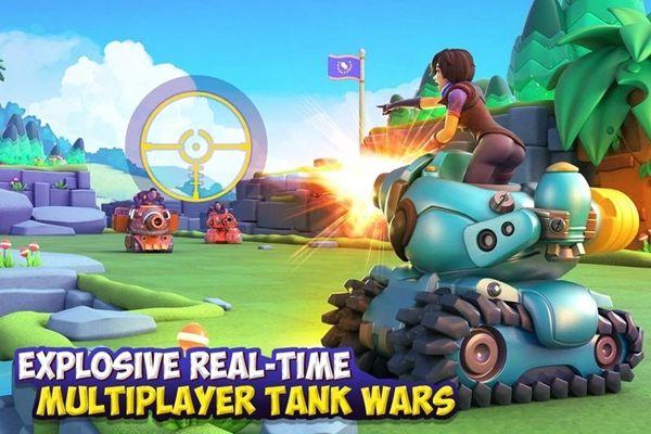 Dank坦克游戏官方网站下载正式版(Dank Tanks)图4:
