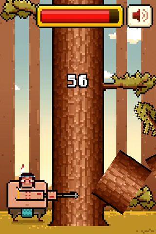 疯狂伐木工timberman vs手机游戏最新版下载图1: