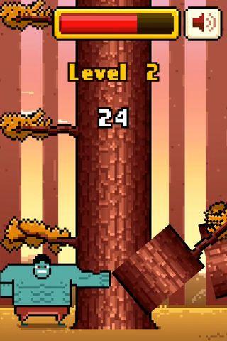 疯狂伐木工timberman vs手机游戏最新版下载图3: