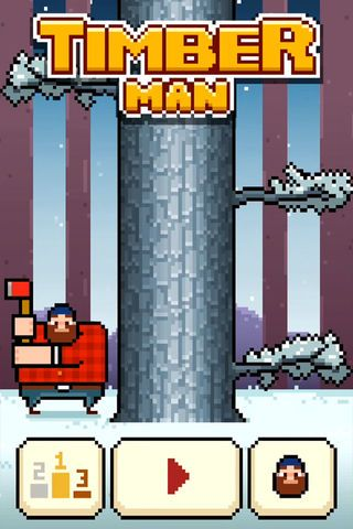 疯狂伐木工timberman vs手机游戏最新版下载图4:
