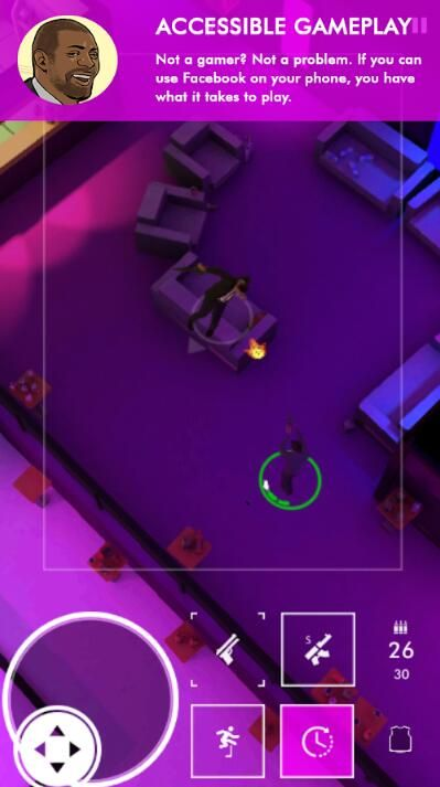 Neon Noir IOS中文版下载无限弹药修改版游戏图2: