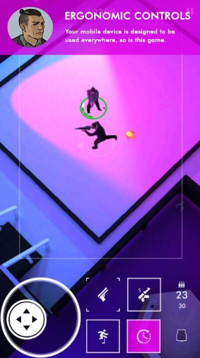 Neon Noir IOS中文版下载无限弹药修改版游戏图4: