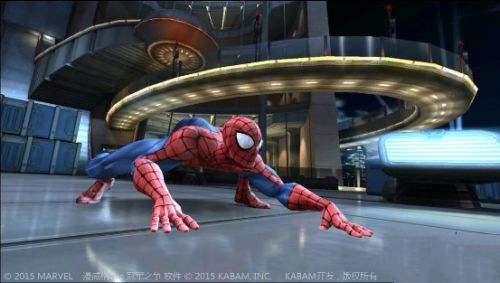 手机上的蜘蛛侠格斗动作类游戏合集