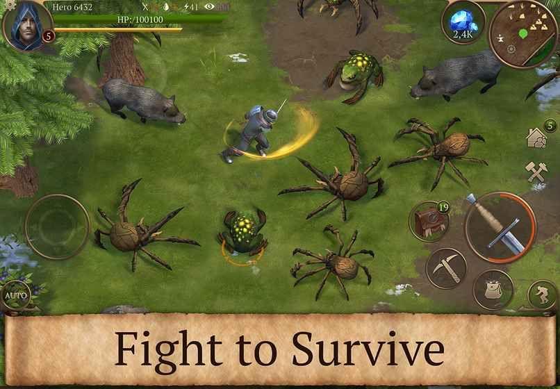 Stormfall生存传奇官方正版手机游戏下载图4: