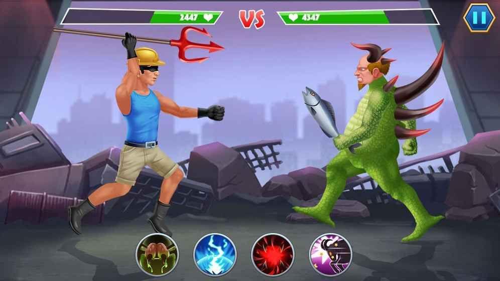 突变格斗安卓官方版游戏(Mutant Battle)图5: