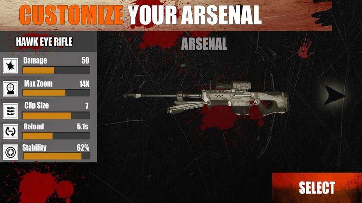 僵尸狙击手FPS边境战争官方安卓版游戏下载图4: