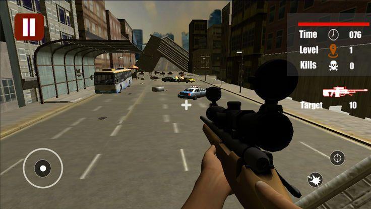 僵尸狙击手FPS边境战争官方安卓版游戏下载图1:
