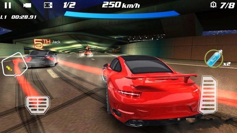 疯狂的赛车3D安卓官方版游戏下载图1: