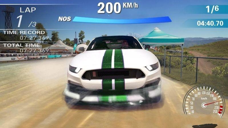 疯狂的赛车3D安卓官方版游戏下载图4: