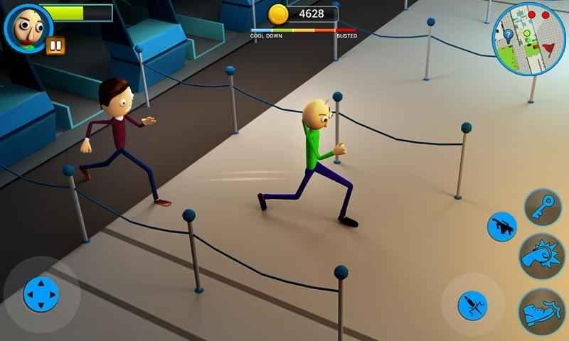 巴迪老师的学校手机游戏官方版下载(Scary Baldi)图3: