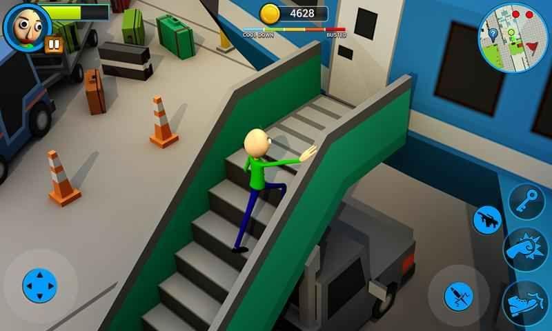 巴迪老师的学校手机游戏官方版下载(Scary Baldi)图1: