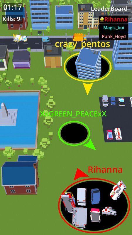 BlackHole.io手机游戏最新正版下载图1: