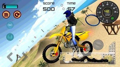 热力沙滩摩托3D安卓官方版游戏下载图1: