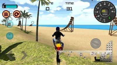热力沙滩摩托3D安卓官方版游戏下载图2: