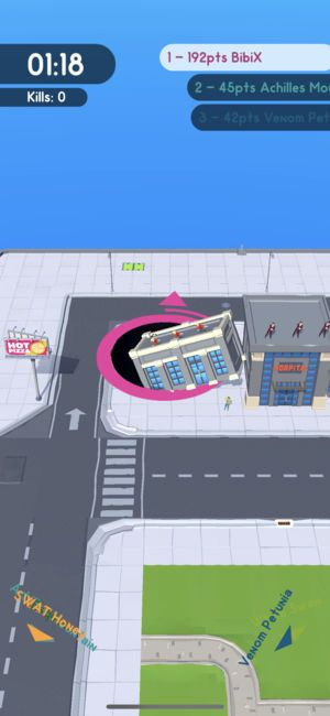 黑洞大作战手游官网下载正式版(Hole.io)图4: