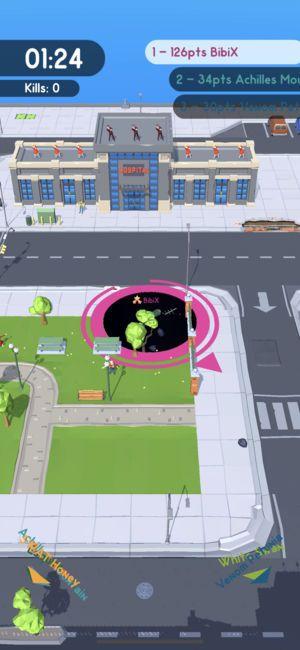 黑洞大作战手游官网下载正式版(Hole.io)图5: