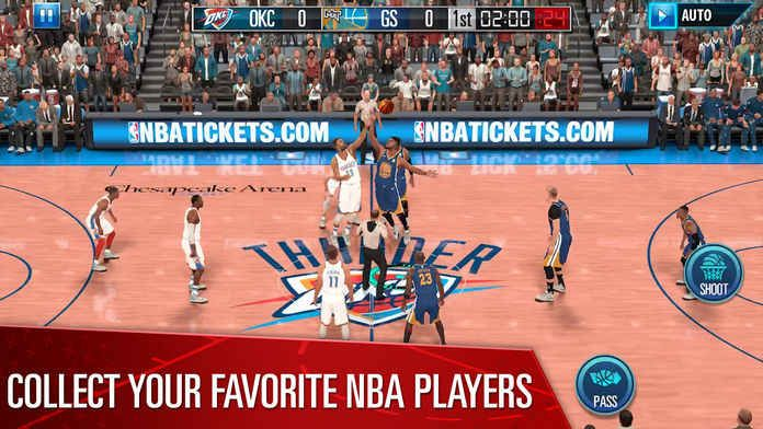 NBA 2K Mobile Basketball手游官方版下安卓版apk数据包图1: