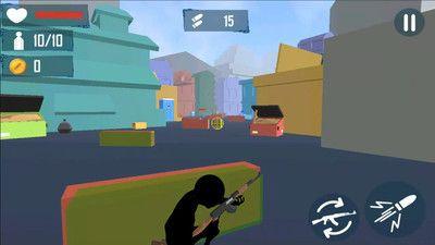 火柴人射手突击手机游戏最新安卓版图1: