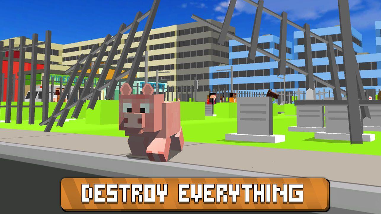 块状城市猪模拟器无限金币中文修改版图4: