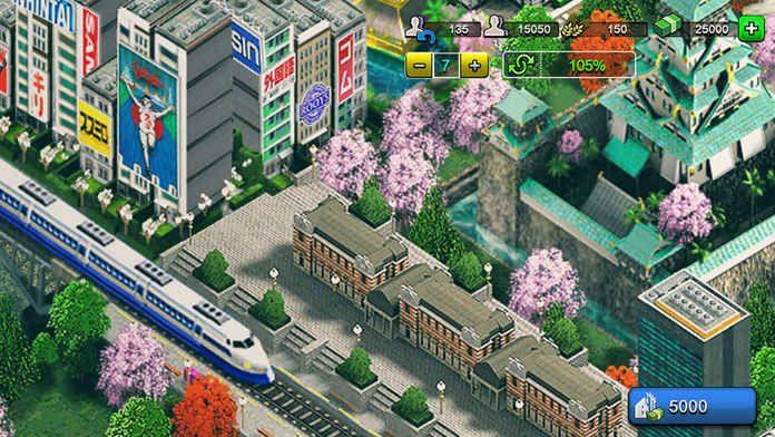 东京2020城市火车安卓手机版游戏下载图4: