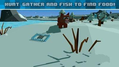 我的世界之冬季工艺生存3D手游官网版下载正式版图1: